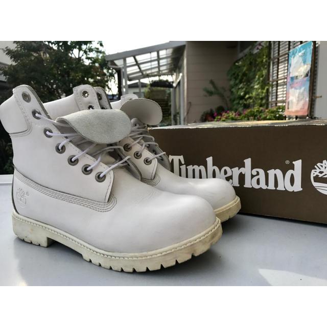 Timberland(ティンバーランド)のTimberland 白 white メンズの靴/シューズ(ブーツ)の商品写真