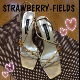 ストロベリーフィールズ(STRAWBERRY-FIELDS)の♡サンダル♡(サンダル)