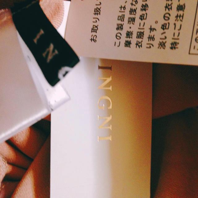 INGNI(イング)の新品♡ イング ワイドパンツ ピンク ベルト付き とろみ バギーパンツ レディースのパンツ(バギーパンツ)の商品写真