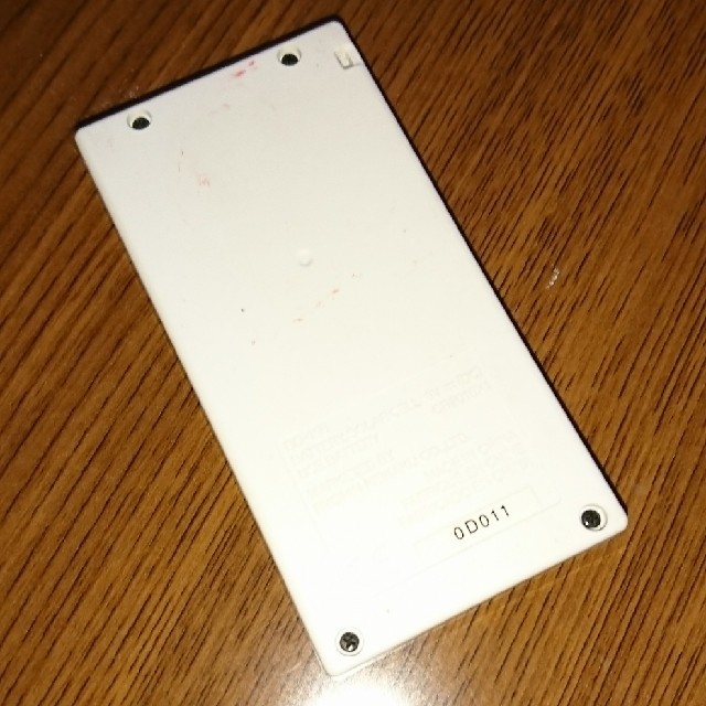 MUJI (無印良品)(ムジルシリョウヒン)の無印♥ミニ電卓(旧型) インテリア/住まい/日用品のオフィス用品(オフィス用品一般)の商品写真