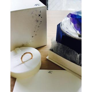 ヨンドシー(4℃)の超美品☆6号☆4℃ 18k ピンクゴールド リング(リング(指輪))