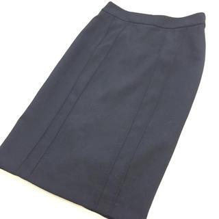 アルマーニ コレツィオーニ(ARMANI COLLEZIONI)の美品!伊製 アルマーニ コレツィオーニ タイトスカート(ひざ丈スカート)
