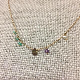 オーロラグラン(AURORA GRAN)のマカロンさま専用^^オーロラグラン 天然石 ネックレス(ネックレス)