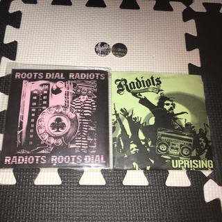 アンチクラス(Anti Class)の激レア!【CD】RADIOTS 1st&2nd セット 缶バッジ付 レディオッツ(ポップス/ロック(邦楽))