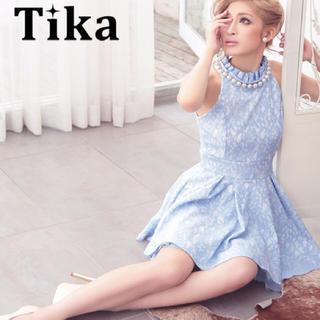 エティカ(Ettika)のTika  人気ドレス★ブルー(ミニドレス)