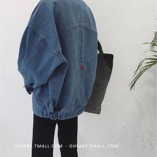 デニムジャケット 新品 古着系 ハレ系 韓国 秋服 秋物 (Gジャン/デニムジャケット)