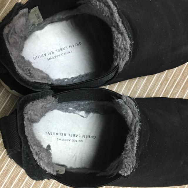 green label relaxing(グリーンレーベルリラクシング)の★最終お値下げ★グリーンレーベル キッズ ボアブーツ サイズ19センチ キッズ/ベビー/マタニティのキッズ靴/シューズ (15cm~)(ブーツ)の商品写真
