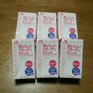 モリナガセイカ(森永製菓)の森永天使の健康 おいしいコラーゲンドリンクピーチ味 6個セット(コラーゲン)
