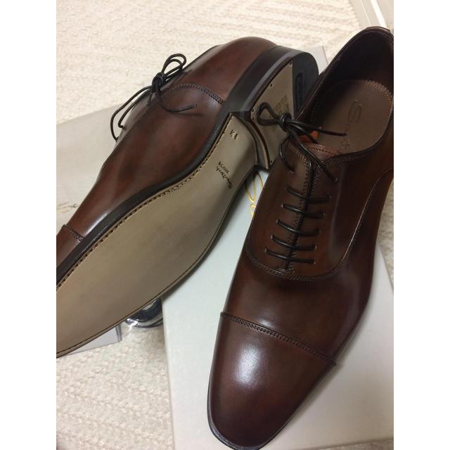 Santoni(サントーニ)の新品 サントーニ グッドイヤー  7h メンズの靴/シューズ(ドレス/ビジネス)の商品写真