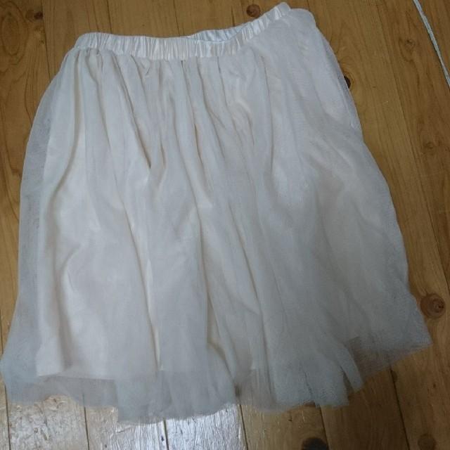 INGNI(イング)のINGNI チュールスカート レディースのスカート(ひざ丈スカート)の商品写真