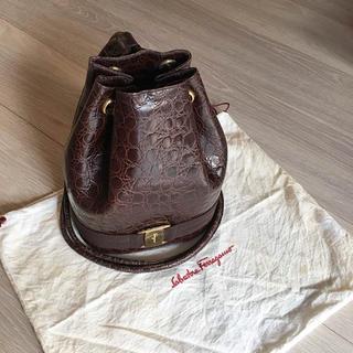 フェラガモ(Ferragamo)のマイマイ様専用 可愛い フェラガモ リュックバッグ(リュック/バックパック)