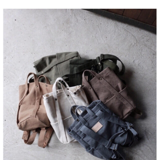 キャラメルベビー&チャイルド(Caramel baby&child )の専用です  新品roooi tote backpack (リュックサック)