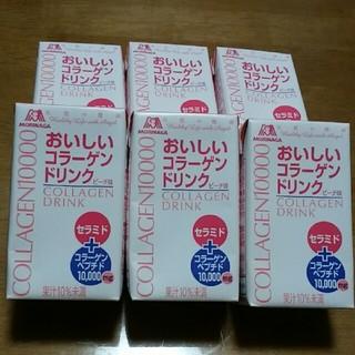 モリナガセイカ(森永製菓)の森永天使の健康 おいしいコラーゲンドリンク ピーチ味 6個セット(コラーゲン)