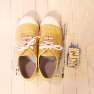 ムジルシリョウヒン(MUJI (無印良品))の無印スニーカー & 靴紐(スニーカー)