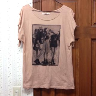 ダズリン(dazzlin)の【値下げ】dazzlin プリントT(Tシャツ(半袖/袖なし))