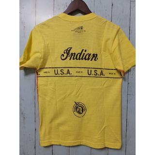 インディアン(Indian)の【準備中】インディアンモトサイクルT黄色(Tシャツ/カットソー(半袖/袖なし))