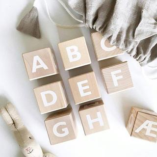 キャラメルベビー&チャイルド(Caramel baby&child )の【専用】Ooh noo Alphabet blocks アルファベット(積み木/ブロック)