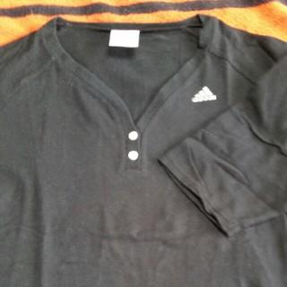 アディダス(adidas)のadidas七分袖シャツ(Tシャツ(長袖/七分))