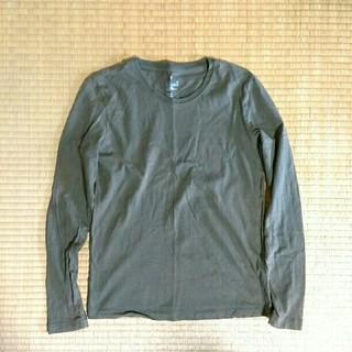 ムジルシリョウヒン(MUJI (無印良品))のオーガニックコットンTシャツ(Tシャツ(長袖/七分))