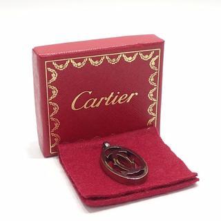 カルティエ(Cartier)のA322 カルティエ 2Cモチーフ チャーム ペンダントトップ 金属素材(チャーム)