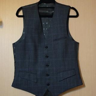オリヒカ(ORIHICA)のORIHICA スーツ ベスト グレー 良品(スーツベスト)