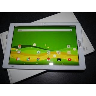 エルジーエレクトロニクス(LG Electronics)の12/1SIMフリー化 新品 au Qua tab PZ LGT32 ホワイト○(タブレット)