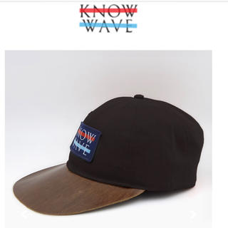 KNOW WAVE 2017aw Leather Brim Wavelength(キャップ)
