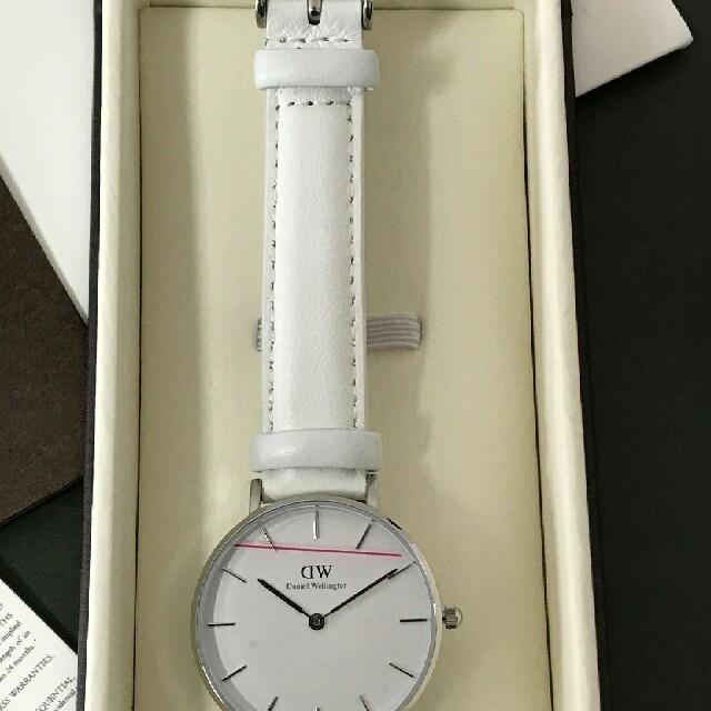 Daniel Wellington(ダニエルウェリントン)の売り切れ続出❤✨ダニエルウェリントン ホワイトベルト✨ユニセックス レディースのファッション小物(腕時計)の商品写真