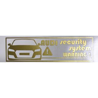 アウディ(AUDI)のアウディ TT ステッカー(セキュリティ)