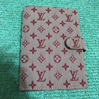 ルイヴィトン(LOUIS VUITTON)の手帳カバー(日用品/生活雑貨)