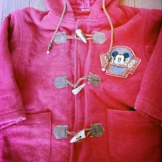 ディズニー(Disney)のお値下げ‼ 送料無料 ディズニーミッキーコート 105 サイズ(コート)