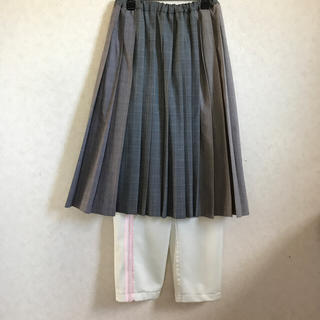ケイスケカンダ(keisuke kanda)のkeisuke kanda アンダー・ザ・プリーツスカート(ロングスカート)