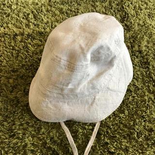 ムジルシリョウヒン(MUJI (無印良品))のきち 様 専用 ☆ 無印良品 50センチ リネン混ハット キッズ(帽子)