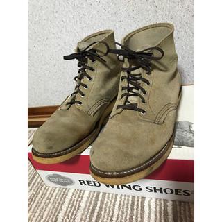 レッドウィング(REDWING)のREDWING レッドウィング  8167 スエード size10E(ブーツ)