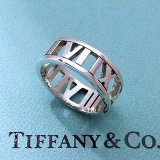 ティファニー(Tiffany & Co.)のTiffany &Co. ティファニー アトラス オープンリング 8号(リング(指輪))