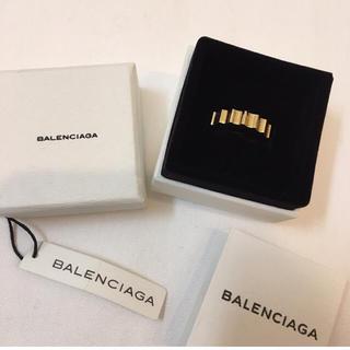 バレンシアガ(Balenciaga)のバレンシアガ ロゴリング 箱付き(リング(指輪))