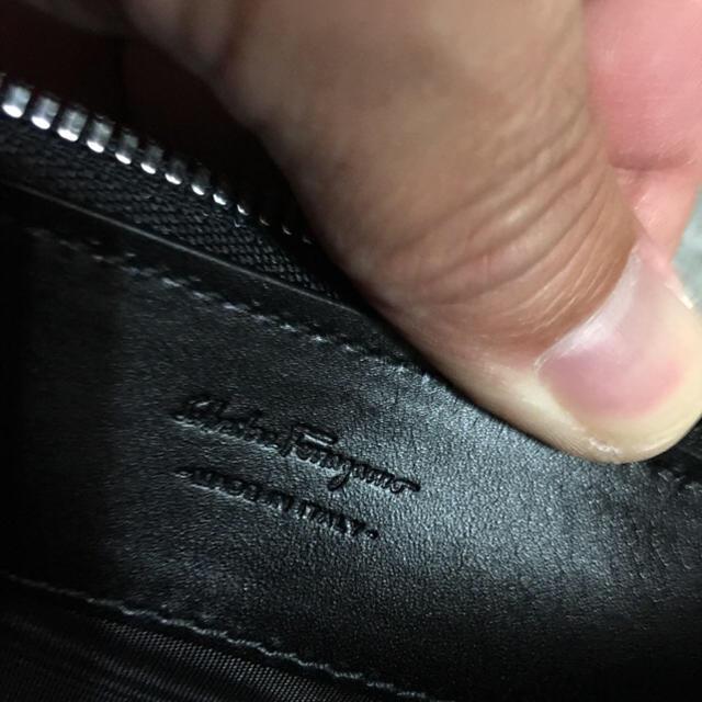 Salvatore Ferragamo(サルヴァトーレフェラガモ)の新品フェラガモ バック高級 メンズのバッグ(セカンドバッグ/クラッチバッグ)の商品写真
