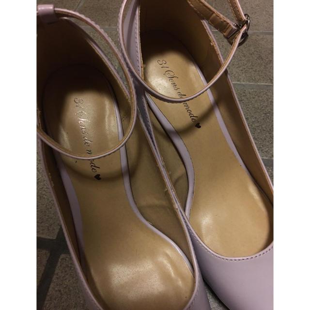 31 Sons de mode(トランテアンソンドゥモード)のトランテアン♡パープル♡Lサイズパンプス♡美品 レディースの靴/シューズ(ハイヒール/パンプス)の商品写真
