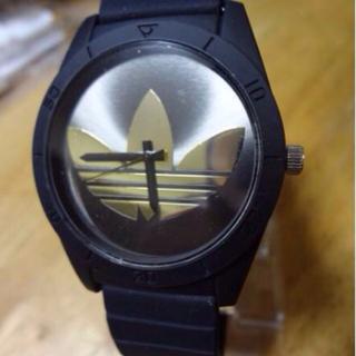 アディダス(adidas)のアディダス腕時計 新品ブラック&ゴールド(腕時計)