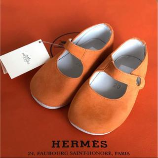 エルメス(Hermes)の【最終お値下げ】新品未使用★エルメス ベビー シューズ(スニーカー)