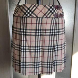 バーバリー(BURBERRY)のバーバリー 定番チェック スカート(ミニスカート)