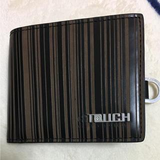 タフ(TOUGH)のタフ 二つ折り財布 ストライプ(折り財布)