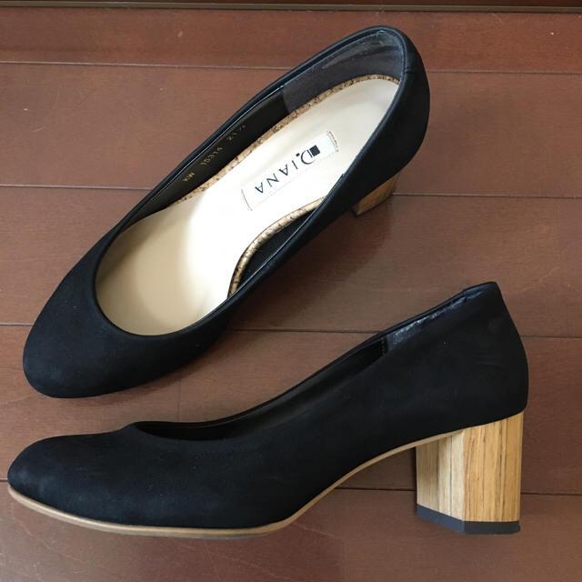 DIANA(ダイアナ)の黒パンプス DIANA レディースの靴/シューズ(ハイヒール/パンプス)の商品写真
