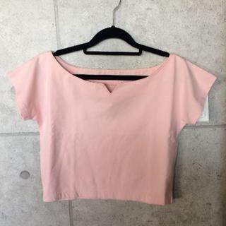 スライ(SLY)の#01006/SLY EVERY DAYデコルテTOPS(Tシャツ(半袖/袖なし))