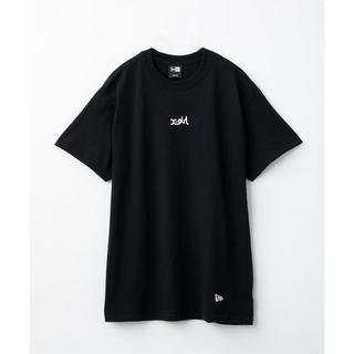 エックスガール(X-girl)の【X-girl x NEW ERA】 TEE ■XL(Tシャツ(半袖/袖なし))