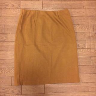 デミルクスビームス(Demi-Luxe BEAMS)の【美品】ペンシルスカート(ひざ丈スカート)