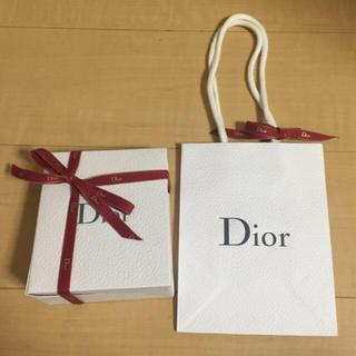 ディオール(Dior)のDior (ディオール) ショッパー ギフト ボックス 袋(ラッピング/包装)