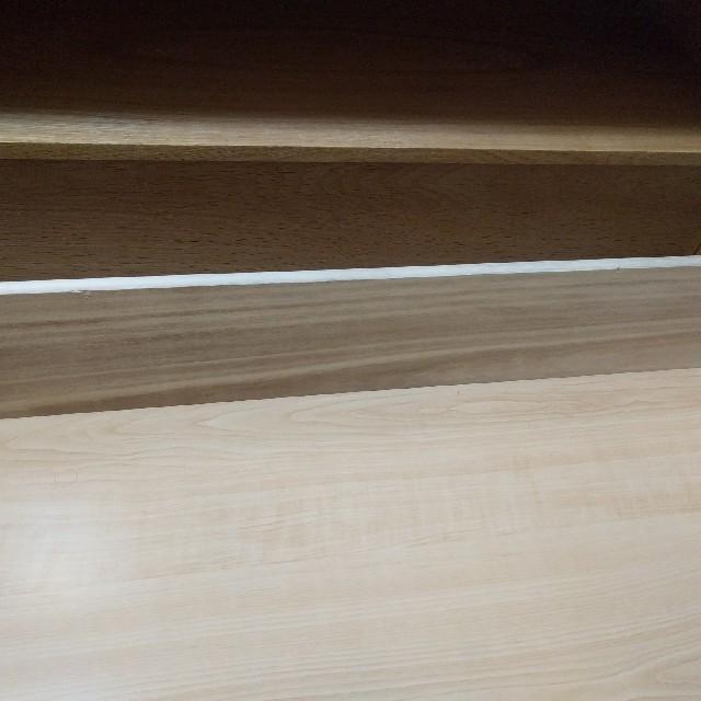 MUJI (無印良品)(ムジルシリョウヒン)の無印良品 スタッキングキャビネット テレビボード テレビ台 ローボード オーク材 インテリア/住まい/日用品の収納家具(リビング収納)の商品写真