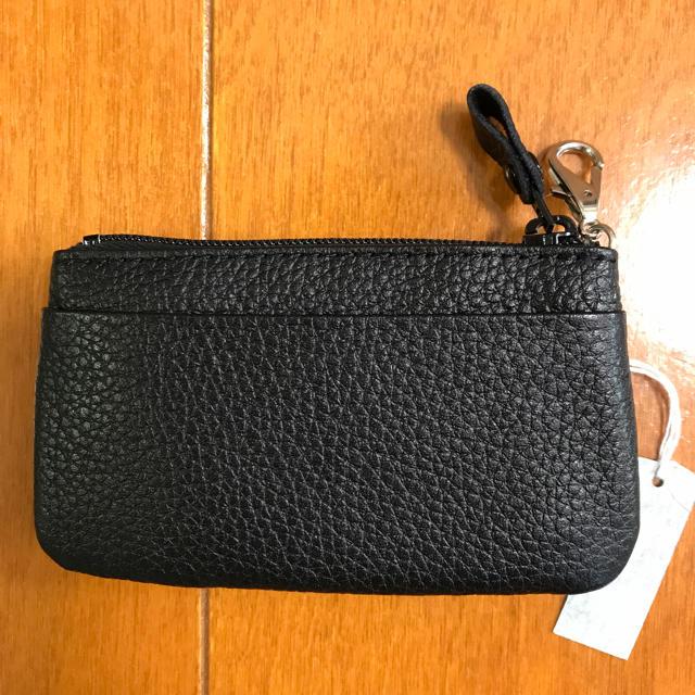 小銭入れ(コインケース)ブラック メンズのファッション小物(コインケース/小銭入れ)の商品写真