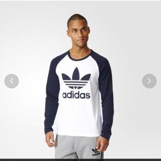 アディダス(adidas)のアディダス オリジナルス ロンT 長袖 Tシャツ メンズ XXL 新品(Tシャツ/カットソー(七分/長袖))